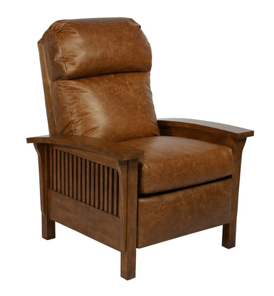 Craftsman Traditional Chaps Saddle Top Grain Leather Recliner BRC-7-4411-5401-16
