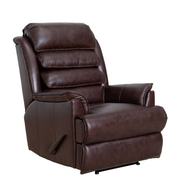 Barcalounger Gatlin Ryegate Brownstone Faux Leather Tall Recliner BRC-53392370686