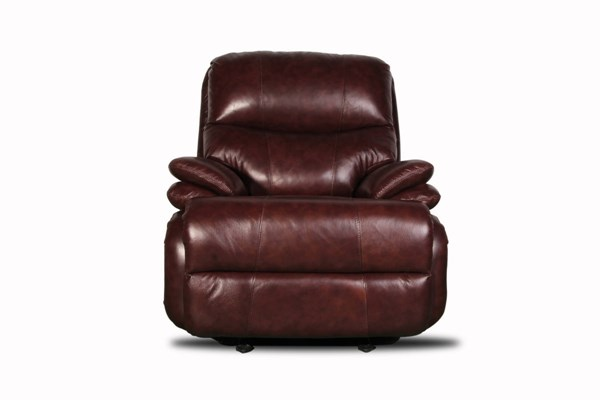 Infiniti Casual Stargo Brown Leather Rocker Recliner BRC-6-4586-5451-16