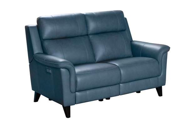 Barcalounger Kester Masen Bluegray Power Reclining Loveseat With Power Head Rests BRC-29PH3716372744