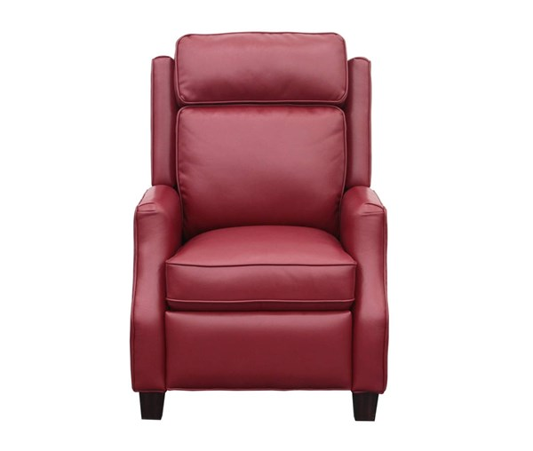 Nixon Transitional Blanche Fire Red Leather Gel Recliner BRC-7-4582-2110-74