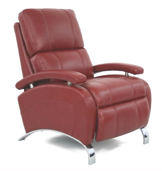 Oracle Contemporary Stargo Red Leather Match Recliner BRC-7-4160-5451-11