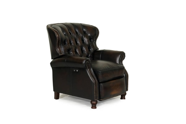 Presidential Traditional Stetson Coffee Leather Power Recliner BRC-9-4148-5407-41