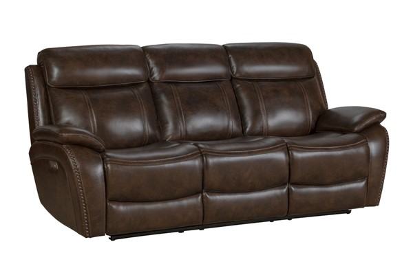 Barcalounger Sandover Tri Tone Chocolate Power Reclining Sofa BRC-39PHL3703371386