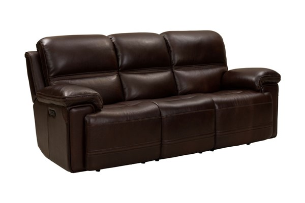 Barcalounger Sedrick Paso Walnut Power Reclining Sofa With Power Head Rests BRC-39PH3664372388