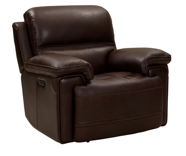 Barcalounger Sedrick Paso Walnut Power Recliner With Power Head Rest BRC-9PH3664372388