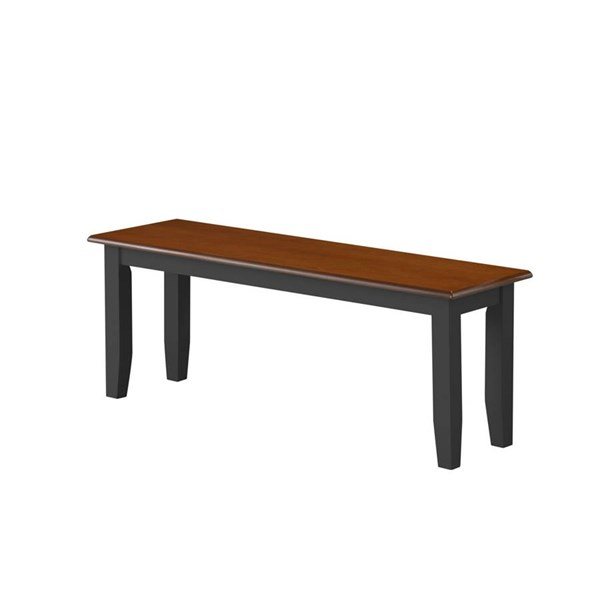 Boraam Bloomington Black Cherry Bench BRM-21032
