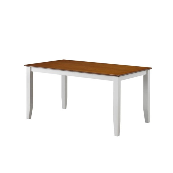 Boraam Bloomington White Honey Dining Table BRM-22030