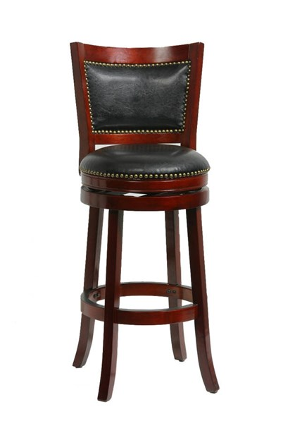 Boraam Bristol Cherry 29 Inch Swivel Stool BRM-42929