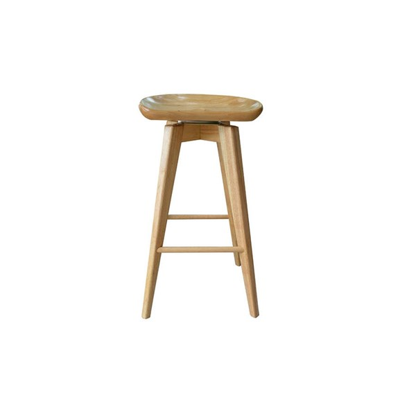 Boraam Bali Natural 24 Inch Swivel Stool BRM-56124