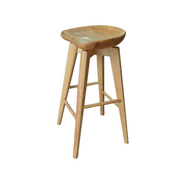 Boraam Bali Natural 29 Inch Swivel Stool