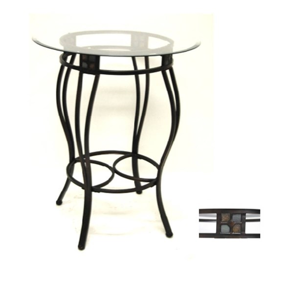 Boraam Beau 36 Inch Counter Height Pub Table