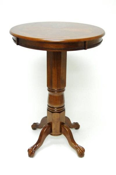 Boraam Florence Walnut Pub Table BRM-71542