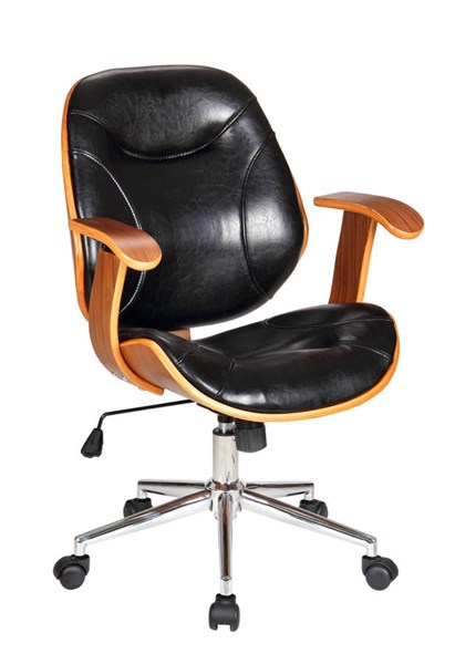 Boraam Rigdom Black Desk Chair BRM-97913