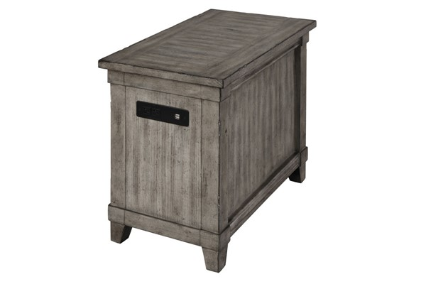 Bernards Rustic Chairside Table BRND-1284-003
