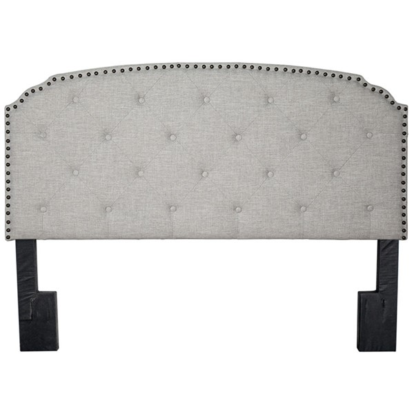 Bernards Olivia Upholstered Queen Panel Headboard BRND-1502DS-105