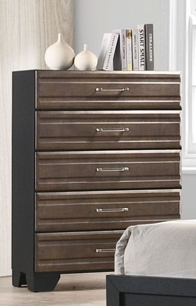 Bernards Allegra 5 Drawers Chest BRND-1958-150