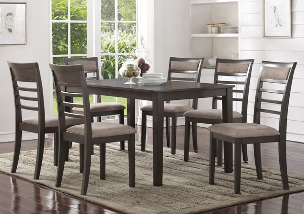 Bernards Glendale Casual 7pc Dining Room Set BRND-5763-500