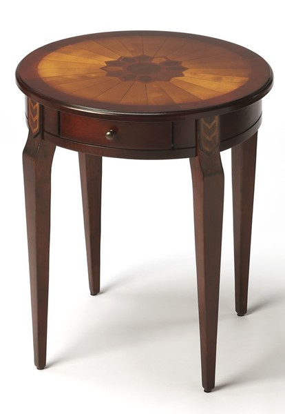Butler Specialty Plantation Cherry Archer Side Table BSF-0341024
