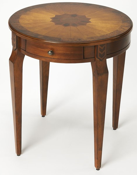 Butler Specialty Masterpiece Archer Round Side Table BSF-0341101