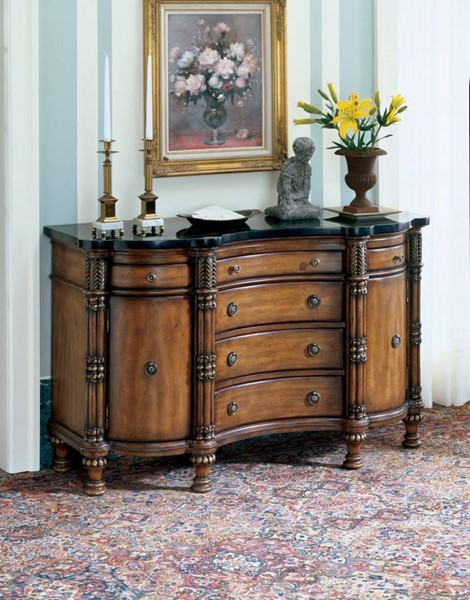 Heritage Traditional Fossil Stone Credenza BSF-0458070