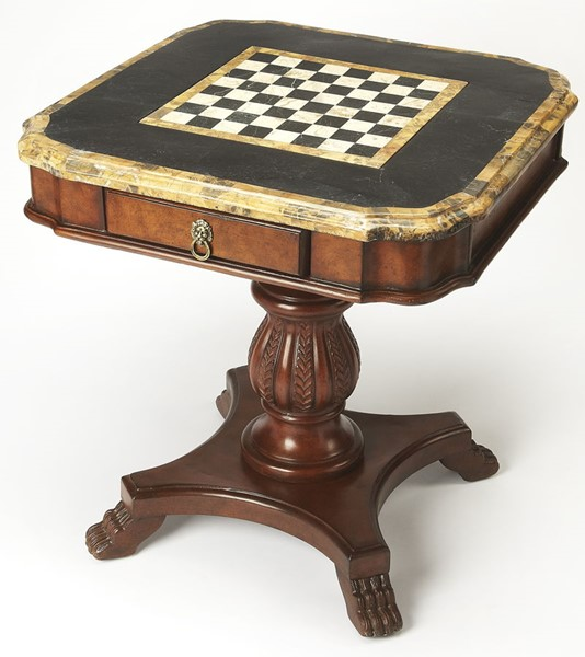 Butler Specialty Heritage Fossil Stone Game Table BSF-0506070