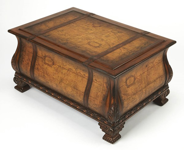 Butler Specialty Heritage Vasco Bombe Trunk Table BSF-0553070