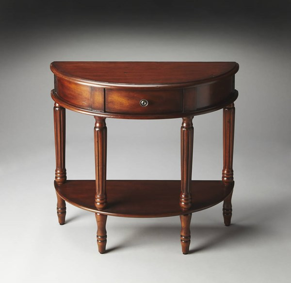 Butler Specialty Masterpiece Mozart Demilune Console Table