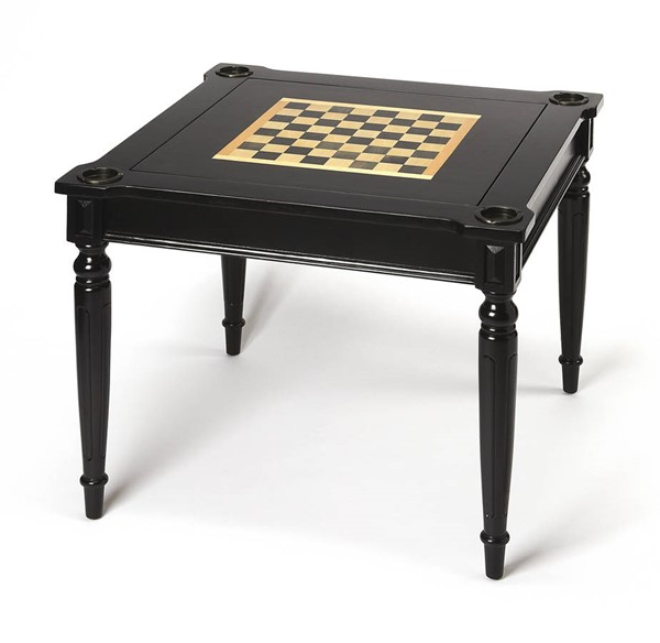 Butler Specialty Masterpiece Vincent Black Game Card Table BSF-0837111