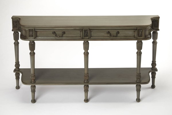 Butler Specialty Masterpiece Merrion Silver Console Table BSF-0872148