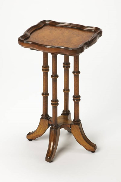 Masterpiece Briscoe Traditional Medium Brown Scatter Table BSF-0937101