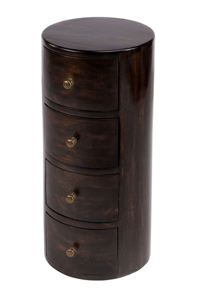 Butler Specialty Artifacts Liam Dark Brown Storage End Table BSF-1176117