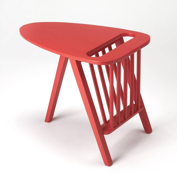 Butler Specialty Modern Expressions Red Magazine Table BSF-1188293