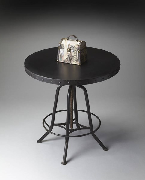 Industrial Chic Transitional Black Hall Pub Table BSF-1200025