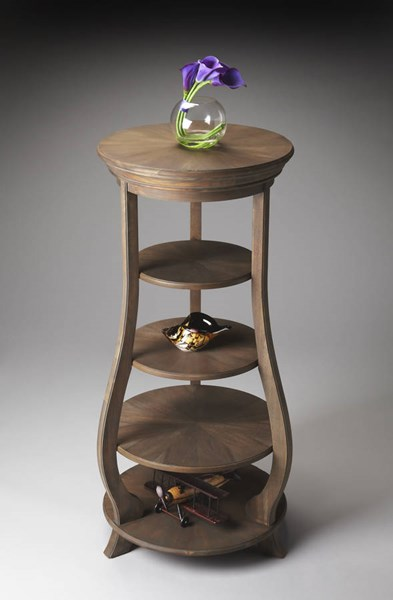 Masterpiece Hillary Transitional Light Brown Toasted Barley Etagere bsf-1225277