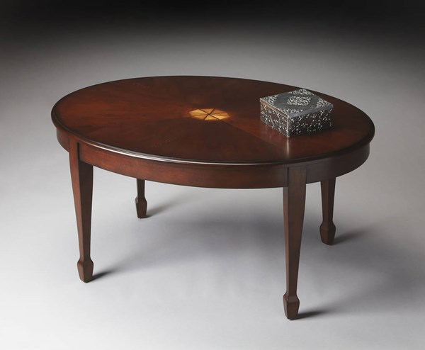 Butler Specialty Plantation Cherry Clayton Cocktail Table BSF-1234024