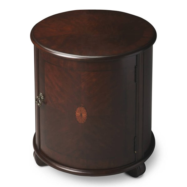 Butler Specialty Plantation Cherry Lawrie Drum Table BSF-1260024