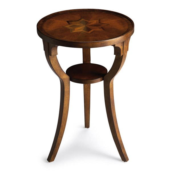 Butler Specialty Masterpiece Dalton Brown Round Accent Table BSF-1328101