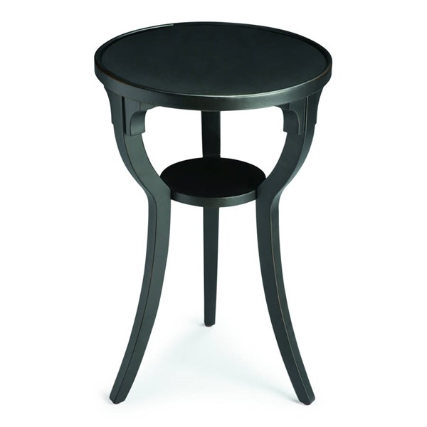 Butler Specialty Masterpiece Dalton Black Round Accent Table BSF-1328111