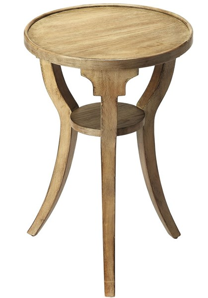 Butler Specialty Masterpiece Dalton Gray Round Accent Table BSF-1328247