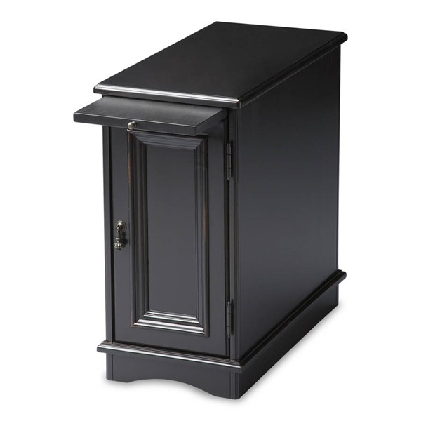 Butler Specialty Masterpiece Harling Black Chairside Chest BSF-1476111