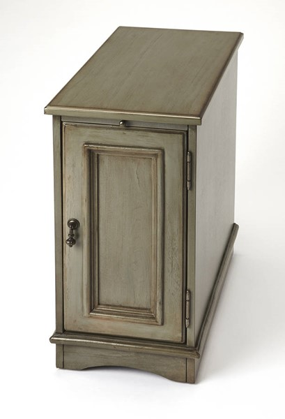 Butler Specialty Masterpiece Harling Silver Satin End Table BSF-1476148