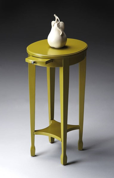 Artists Originals Arielle Transitional Pear Green Accent Table BSF-1483141