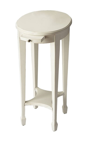 Butler Specialty Masterpiece Arielle White Accent Table BSF-1483222