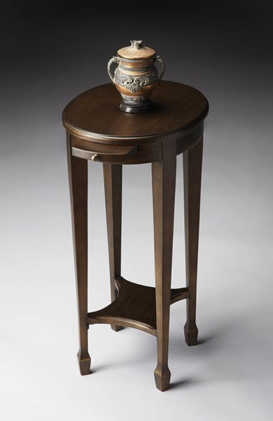 Masterpiece Arielle Transitional Black On Gold Accent Table BSF-1483223