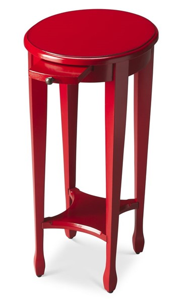Butler Specialty Loft Arielle Red Round Accent Table BSF-1483293