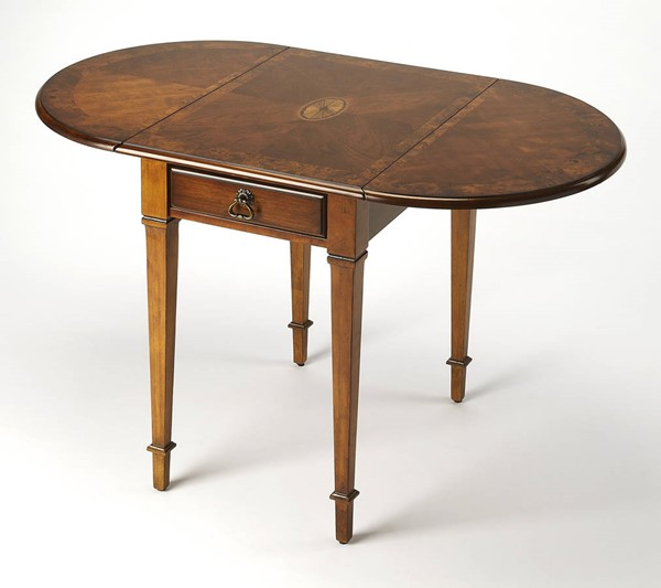 Butler Specialty Masterpiece Glenview Brown Pembroke Table BSF-1576101