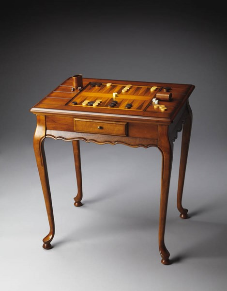 Masterpiece Bannockburn Traditional Medium Brown Game Table BSF-1694101