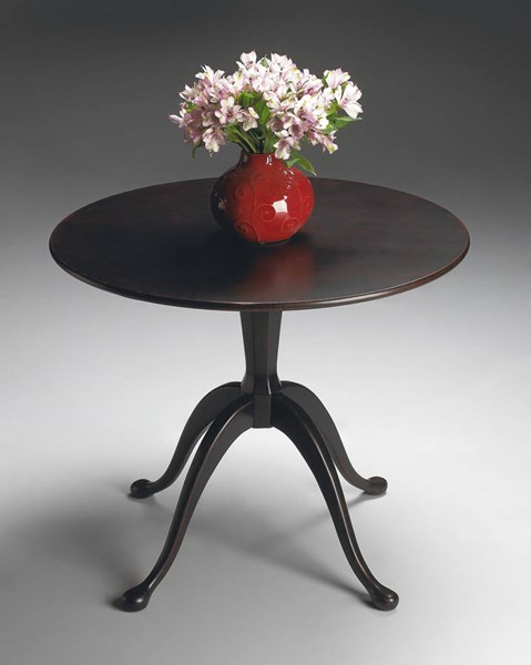 Artists Originals Transitional Plum Black Hall Table bsf-1775136