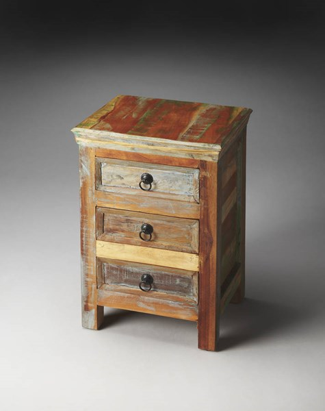 Artifacts Arya Transitional Re-Cycled Wood Accent Chest BSF-1837290